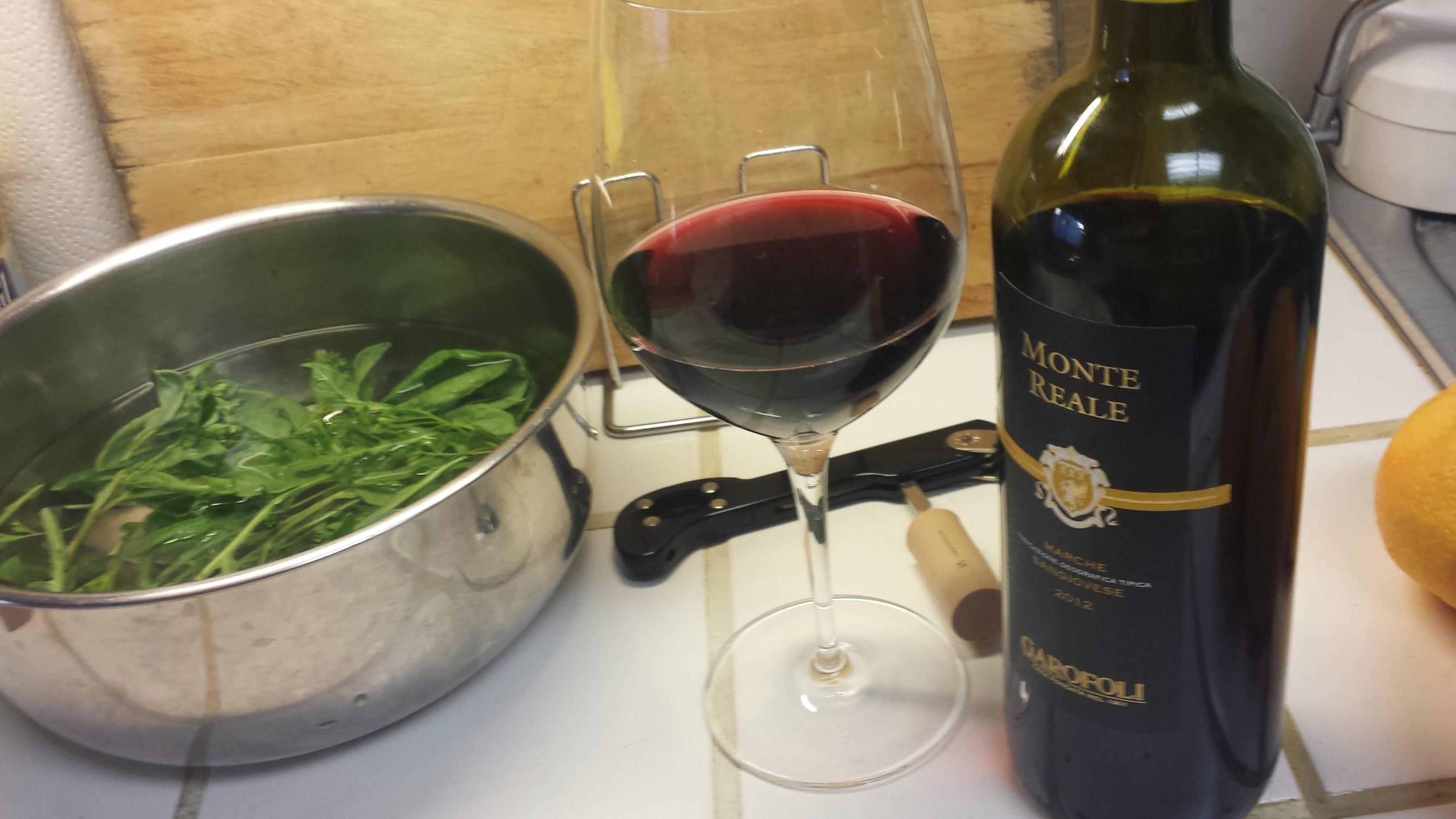 Wine arugula